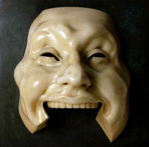 Adolfo Wildt – Maschera dell'idiota – 1918 ca.