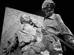 Ettore Ximenes, Ragazzi in rissa, 1878
