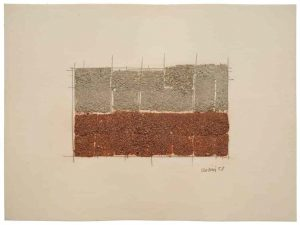 Giuseppe Uncini, 'Senza titolo,' 1958