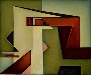 Mario Radice Composizione G R U, 1951