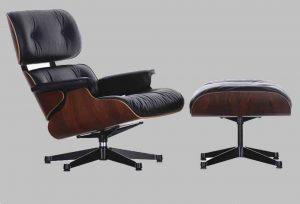 Poltrona Charles e Ray Eames - lounge chair