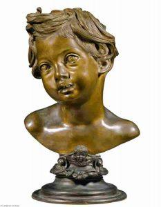 Vincenzo Gemito, testa di un bambino