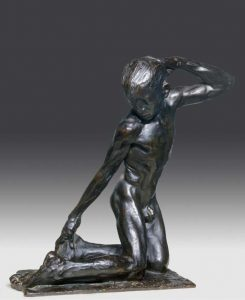 Libero Andreotti Adolescente-1908.-scultura in bronzo