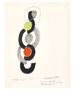 SONIA DELAUNAY (Gradizhsk 1885 - Parigi 1979) Variante 2
